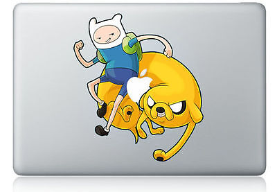 "Jake Finn Adventure Time Apple Macbook Air/Pro 13/15"" Vinyl Sticker Decal"