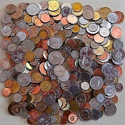 Ten Pounds of Foreign World Coins With Guaranteed Ten Silver Coins