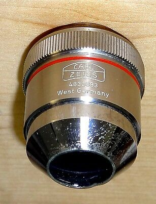 Carl Zeiss Epiplan HD 4X Reflected Light Microscope Objective