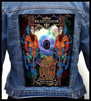 MASTODON - Crack The Skye --- Back Jacket Patch backpatch /baroness high on fire