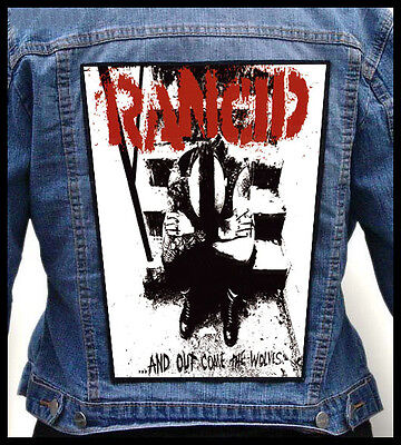RANCID - ...And Out Come The Wolves  --- Back Jacket Patch backpatch