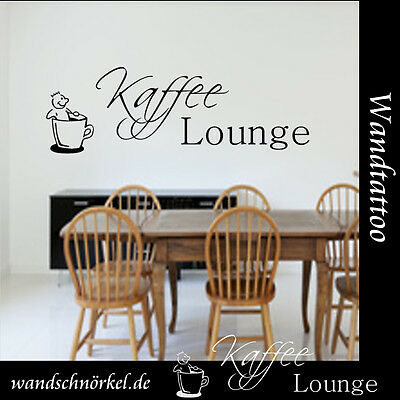 Wandtattoo Küche Kaffee Lounge Wanddekoration,Wallsticker Sticker,Wall Tattoo**