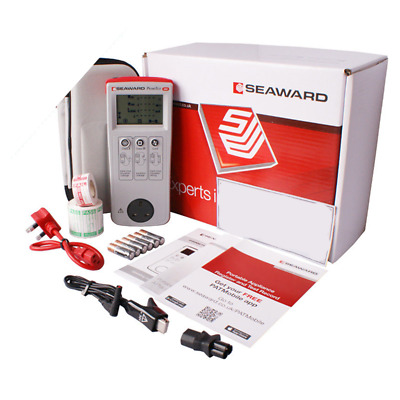Seaward Primetest 100 PAT Tester KIT61 w/ Accessories, Calibration and Software