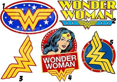 Wonder Woman Sticker / Autocollant Ou Transfert Textile , Vetement, T-Shirt