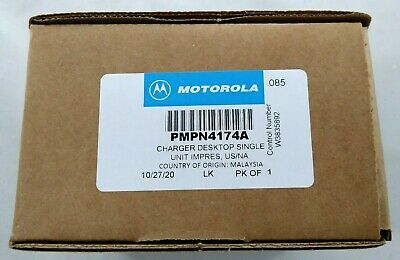 Motorola OEM REAL GENUINE MotoTRBO XPR IMPRES Rapid Desk Charger WPLN4232 NEW!!!
