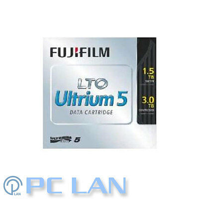 10x FUJIFILM LTO5 - 1.5TB / 3TB DATA Tape CARTRIDGE 71022