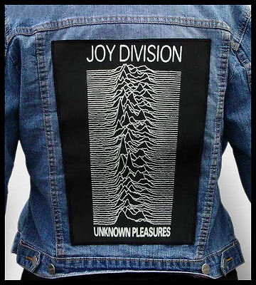 JOY DIVISION - Unknown Pleasures  --- Back Jacket Patch backpatch
