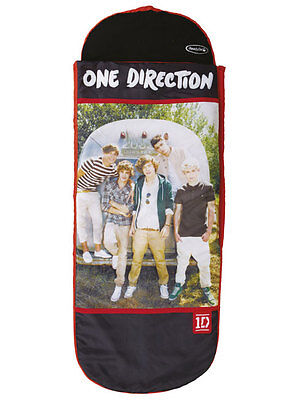 Cama y Sillon Hinchable Transportable Grupo Musical One Direction 1D Ready Bed