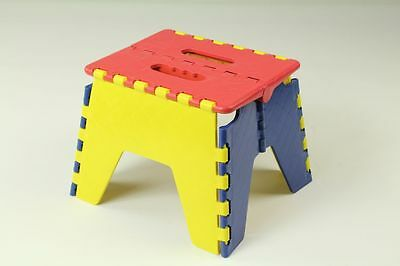 Colourful Kids Foldable Folding Stool Chair Step 3 Assorted Colors WHOLESALE
