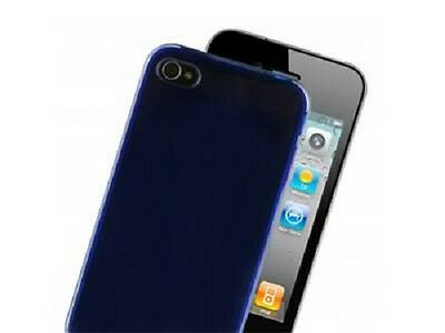 100 X Exspect EX214 iPhone 4S and 4 Tough Skin Blue Silicon Cases + Screen Prot