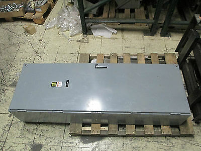Square D Magnetically Held Lighting Contactor 8903SYG17, 400A 3P 120V Coil Used