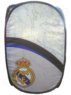 Cesto Organizador Plegable Futbol Real Madrid