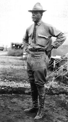 Major Charles Young of the 10th Cavalry who will be made Lieut. Colonel 1916 WC