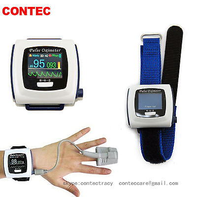 Wrist Pulse Wearable Digital Pulse Oximeter,Pulse Rate,SPO2,Sleep Study CMS50F