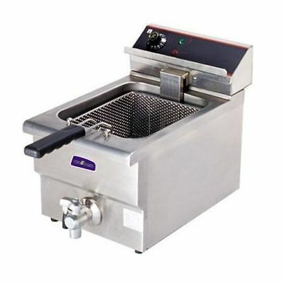 Benchtop Deep Fryer, Single Vat 10L,  Cold Zone, Commercial Kitchen Equipment