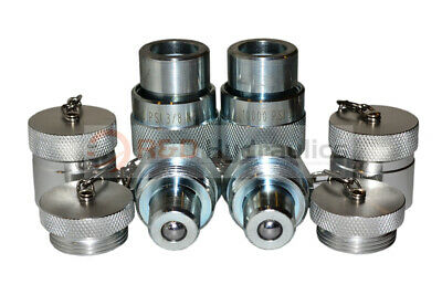 2pk 10,000psi Hydraulic Quick Coupler Set (for Enerpac)