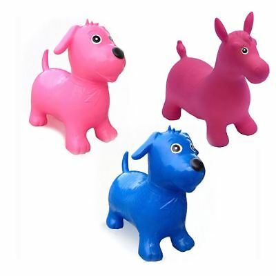 Happy Hopperz Medium 18 m to 3y Toddler Inflatable Bouncy Spacehopper Animal Toy