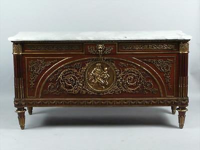 "Antique Mahogany Sideboard ""Commode Louis XVI""--After Benneman & Stockel"