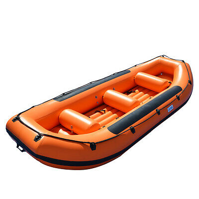 1.2mm PVC 14.1 ft White Water River Raft Inflatable Boat Raft BRD430