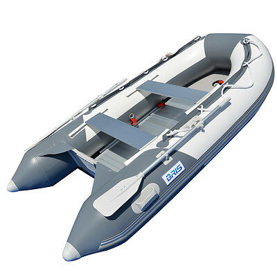 9.8 ft Inflatable Boat Inflatable Dinghy Boat Yacht Tender Fishing Raft GW