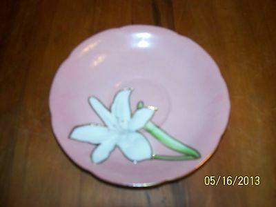 Vintage occupied Japan Princess china saucer great condition! Floral