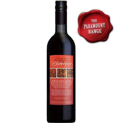 Coonawarra Paramount 2013 Cabernet Sauvignon  - Cleanskin Red Wine x 12