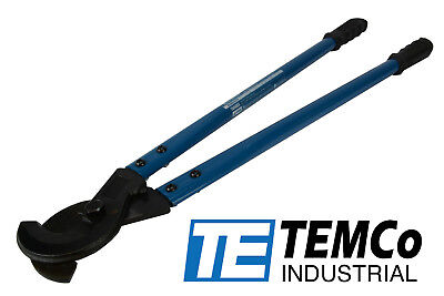 """TEMCo HEAVY DUTY 24"""" 750 mcm WIRE & CABLE CUTTER Electrical Tool 400mm2 NEW"""