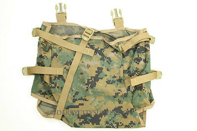 USMC MARPAT Gen 2 Radio Pouch for ILBE Main Pack Very Good Condition w/Buckles