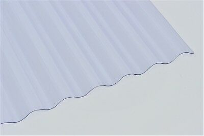 Mini Profile Corrugated Roofing Sheet Clear 6', 8' and 10' Lengths