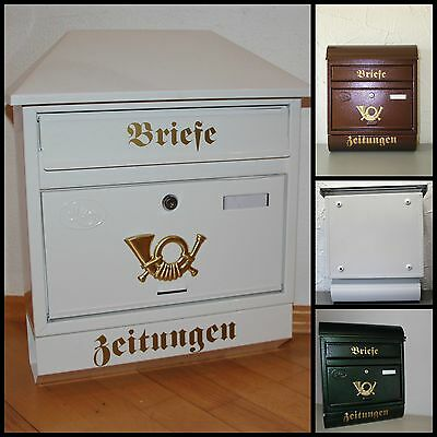 besonderer amerikanischer briefkasten mit motiv abend. Black Bedroom Furniture Sets. Home Design Ideas