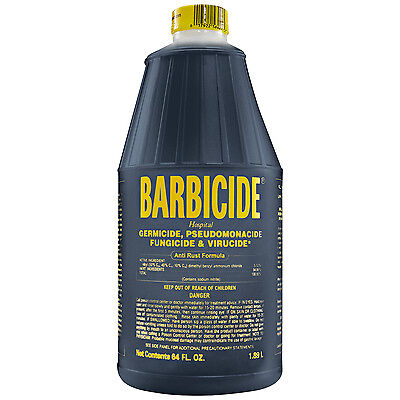 Barbicide Germicide Disinfectant For Barber's Salons and Spa's  64oz.