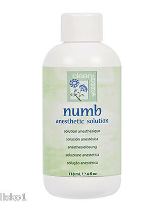 clean + easy #43609 Numb Anesthetic Pre Wax Solution 4oz.