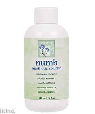 clean + easy Numb Anesthetic Pre Wax Solution 4oz. #43609