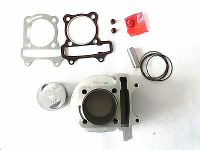 57mm GY6 150cc Bore Cylinder Piston Ring Chinese Scooter JCL SunL Roketa 157QMJ