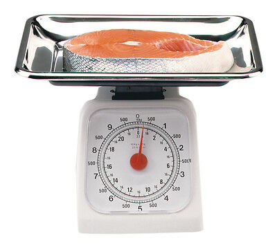 Norpro 8625 Accurate Kitchen Household Scale 22lb, Great for Portion Control