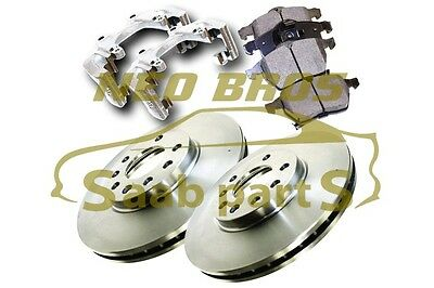 Saab 900, 9-3 & 9-5 Front Brake Upgrade Kit, 308Mm Discs, Carriers, Pagid