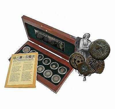 The Biblical Holy Land: Judaea 12 Coin Collection From The Time Of Jesus