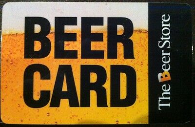 The BEER STORE collectible BEER GIFT CARD (no cash value)