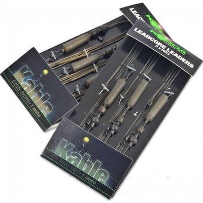 Korda NEW Kable Leadcore Heli Leaders 3 x 1 Metre