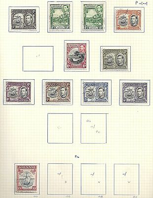Grenada collection of 11 stamps  HIGH VALUE!