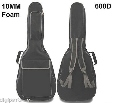 "Acoustic Guitar Carrying case, 10mm Paddding Bag, Max. 41"" full size (550-011)"