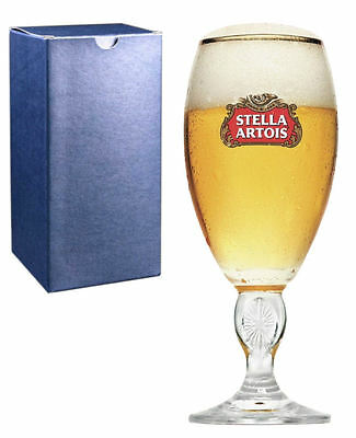 Personalised 1 pint Stella Artois Chalice Beer Glass Engraved Best Man Gift
