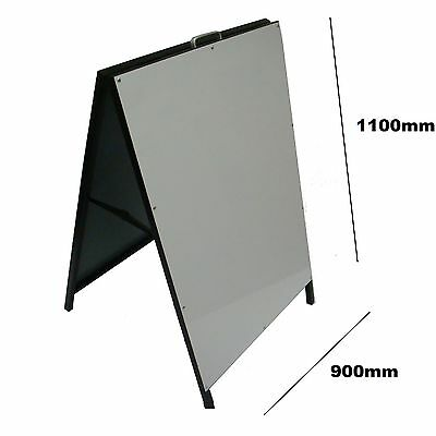 Metal A Frame/Sign Sandwich Board 1100x900  DOUBLE SIDE X LARGE