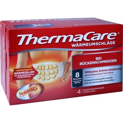 THERMACARE Rueckenumschlaege S-XL - 4 Stück   4 st   PZN707366