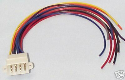 12 pin wiring connector plug for the whelen 295hfs siren amp