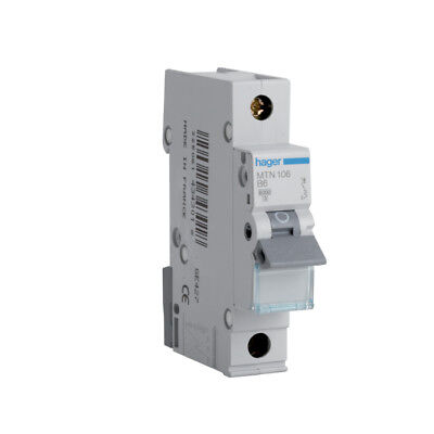 Hager MCB MTN SP MCB Miniture Circuit Breaker - CHOOSE FROM 6 - 50 AMP