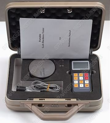 New YHT-100 Rebound Leeb Hardness Tester Meter D Impact Device for Metal Steel
