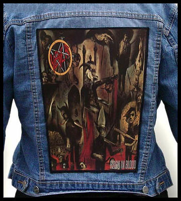 SLAYER - Reign in Blood  --- Back Jacket Patch backpatch