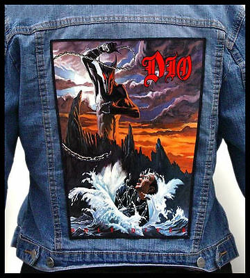 DIO - Holy Diver  --- Back Jacket Patch backpatch