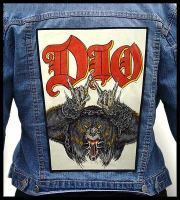 DIO - Beast --- Back Jacket Patch backpatch